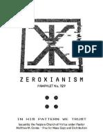 Zeroxian Pamphlet No. 1129