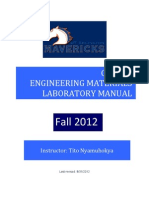 CE3161 Laboratory Manual-2012