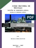 AMONOLISIS