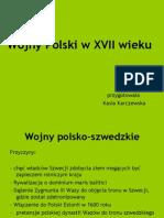 Kasia- Wojny Polski w XVII Wieku