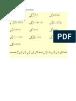 Calcule Las Siguientes Integrales Definidas