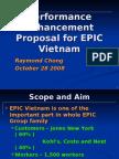 Performance Enhancement Proposal for EPIC Vietnam