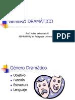 Unidad 3 Genero Dramatico