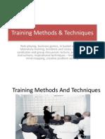 U 3 Training Methods and Techniques