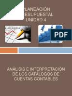 ANÁLISIS E INTERPRETACIÓN DE LOS CATÁLOGOS DE CUENTAS expo  gerencial