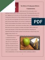 Digital Text Essay Color