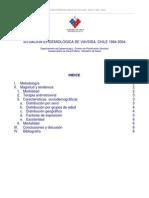 minsal - situación epidemiológica de vih-sida -  chile 1984-2004