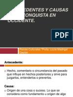 Antecedentes y causas de la Conquista Española