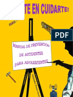 Manual de prevención de accidentes para adolescentes