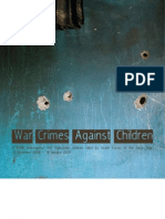 Israeli War Crimes against Palestinian Children