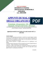 0017 - Malattie Degli Organi Di Senso