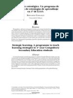 Aprendizage Estratégico