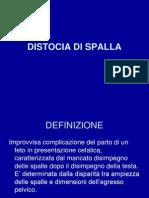 Distocia Di Spalla