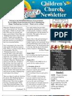 Newsletter 11-25-12