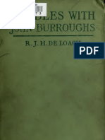 DeLoach, R.J.H. - Rambles With John Burroughs (1912)
