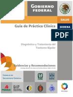 Guía diagnóstico y tratamiento del trastorno bipolar