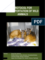 Protocol for Transportation of Wild Animals - Naresh Kadyan