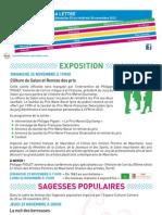 La Lettre de l'IFM Du 25 Au 30 Novembre 2012