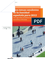 Temas Candentes Sanidad 2012 Pwc