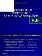 1 Major Chemical Components of the Living Organisms 2011