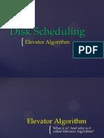Operating System - Elevator Algorithm