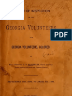 Georgia. Adjutant-General's Office, C. B Satterlee--Report of Inspection of the Georgia Volunteers and Georgia Volunteers, Colored (1892)