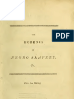The Horrors of the Negro Slavery Existing in Our West Indian Islands (1805)