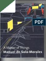 Manuel de Solà-Morales