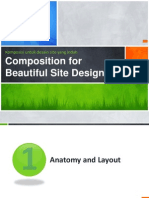 Composition for Beautiful Site Design
