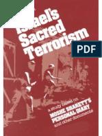 Israel's Sacred Terrorism