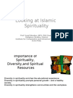 Islamic Spirituality .Ppt