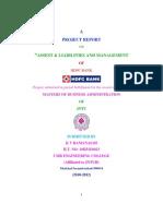 Asset Liabilities Management Hdfc 2011