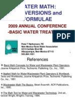Water Math