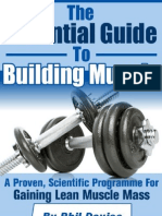 The Essential Guide To Building Muscle