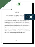 HBL Bank Internship Final Report