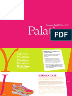 Palatino Design Spread