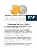 Introducing the Islamic Dinar and Dirham