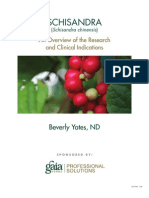 A Research Review of Schisandra