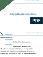Internet Routing Algorithm