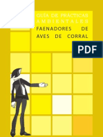 GUÍA DE PRÁCTICAS AMBIENTALES - FAENADORES DE AVES DE CORRAL