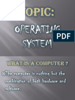 Basic Compute Project for School Level