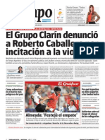 Tiempo Argentino denuncia a Clarín