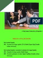 Paúl Llaque Redacción y Ortografía Sesión 1