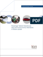 Cars & Climate Change - Passenger Vehicle Greenhouse Gas and Fuel Economy Standards- a Global Update