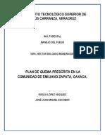Elaboracion de Un Plan de Quema Prescrita-pareja Evelia y Jose Juan