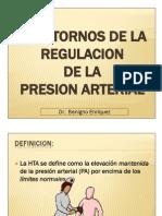 Trastornos de La Regulacion de La Presion Arterial