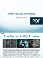 Film Trailer Analysis