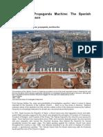 The Vatican Propaganda Machine