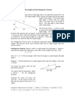 Math 05 Right Triangles