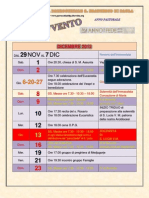 Calendario parrocchiale dell'Avvento 2012